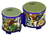 Remo RHYTHM CLUB, Bongos, 5/6 Diameters, Rhythm Kids Graphics