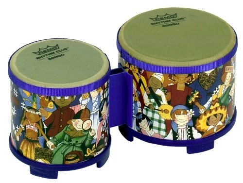 Remo RHYTHM CLUB, Bongos, 5/6 Diameters, Rhythm Ki
