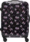 [ディズニー] Disney ミッキー&ミニー スーツケース 33L d6112 ブラック(10)