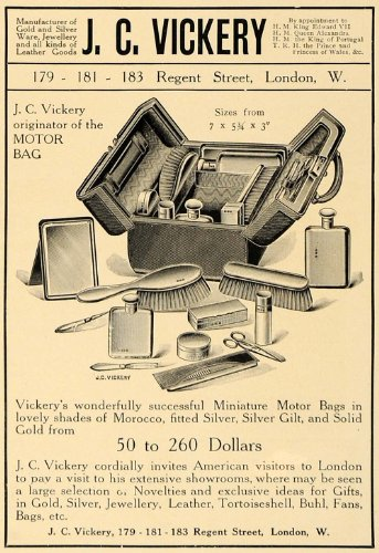 1907-ad-jc-vickery-miniature-motor-bags-cosmetic-case-original-print-ad