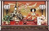 ひな人形 ワイン No.211 三五 二人 ケース飾り 雛人形