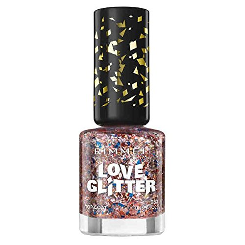 Rimmel Love Glitter Special Effects Nail Polish Tinsel Toes