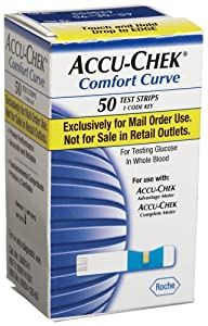 Amazon Com Accu Chek Comfort Curve Mail Order Test Strips