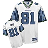 Reebok Seattle Seahawks Golden Tate Replica White Jersey Large at Amazon.com