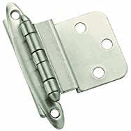 Amerock Corp. BP3417-G10 Traditional Hinge-SATIN NICKEL NSC HINGE