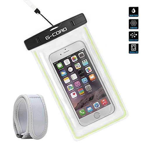 G-Cord® Waterproof Case - fits iPhone 6s Plus Samsung Galaxy Note 5