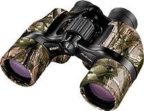 Nikon 8x40 Action VII Ultra Wide View Porro Prism Binoculars, Camo - Clam Pack 7262