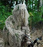 GhillieSuits Synthetic Ultra-Light Ghillie Bow Hunting Jacket Left Hand Desert 2XL