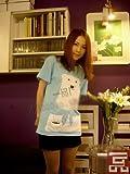 コスプレ衣装♪しろくまカフェ シロクマ Tシャツ Mサイズ コスチューム、コスプレ