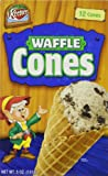 Keebler Ice Cream Waffle Cones, 12-Count Cones (Pack of 6)