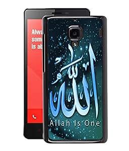 Fuson 2D Printed Lord Allah Designer Back Case Cover for Xiaomi Redmi1S - D549