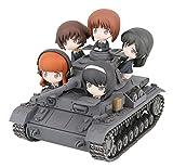ぺあどっと ガールズ&パンツァー IV号戦車D型(F2型仕様) エンディングVer. 完成品