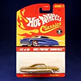 Hot Wheels Classics Series 2 # 19 of 30 Green Spectraflame '40 Ford Coupe on White Wall Tires