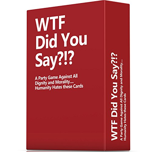 WTF-Did-You-Say-A-Party-Game-Against-All-Dignity-and-Morality-Full-Game-XL-Set-of-594-Cards