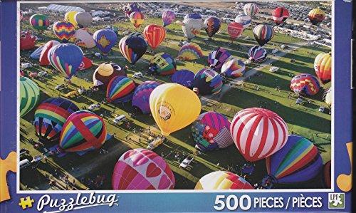 Puzzlebug 500 Piece Puzzle ~ Ready for Takeoff, Albuquerque Hot Air Balloon Festival - 1