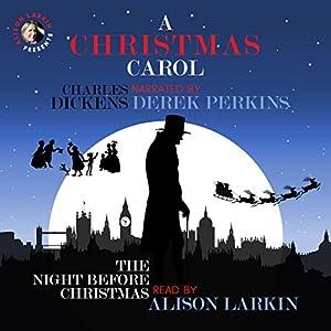 A Christmas Carol and The Night Before Christmas Audiobook