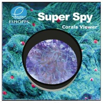 Eshopps Super Spy - Coral View - Small - 6 in. diameter x 3 in.