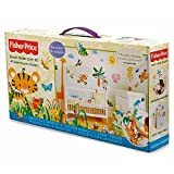 Animals of the Rainforest Nursery Wall Sticker Make-Over Kit