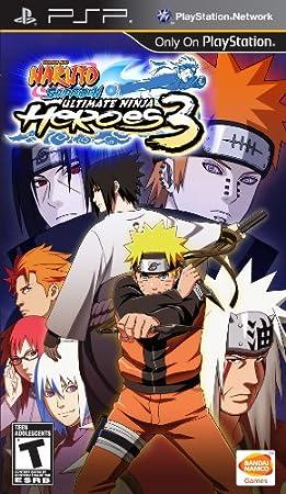 Naruto Shipuden: Ultimate Ninja Heroes 3