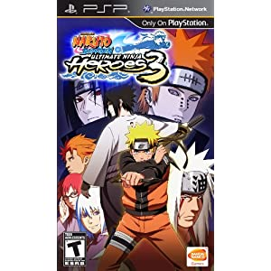Naruto Ultimate Ninja Heroes 3 PlayStation Game