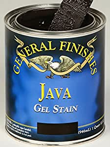 General Finishes JP Gel Stain, 1 pint, Java