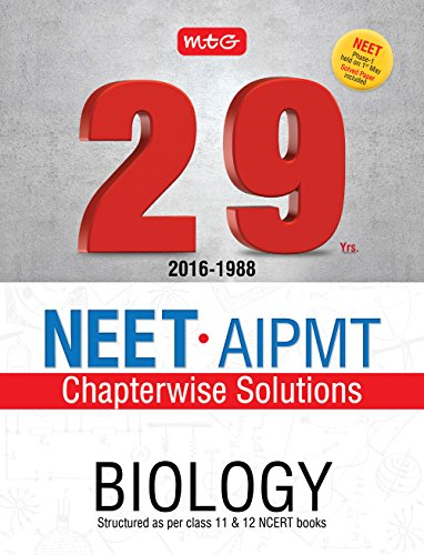 29 Years NEET-AIPMT Chapterwise Solutions - Biology