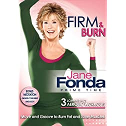 Jane Fonda Prime Time: Firm & Burn Low Impact Cardio