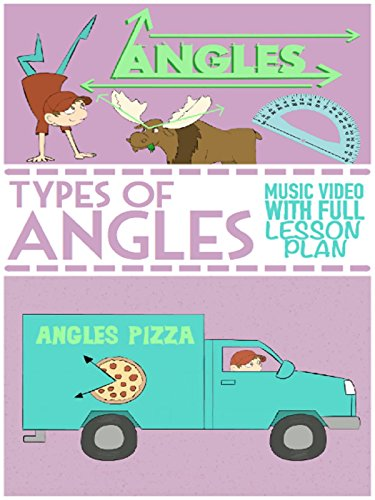 Types of Angles Song For Kids: Acute, Obtuse & Right