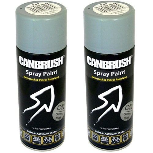 2-x-canbrush-spray-paint-for-metal-plastic-wood-400ml-gloss-finish-genting-dusk-by-canbrush