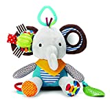 ベビー&キッズ 音が鳴る 出産祝い・ベビーベッド玩具・人形 子供向け・可愛い・知育遊具 子供 赤ちゃん ・多機能おもちゃ (キュート象♪♪)