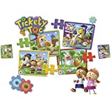 Tickety Toc - Puzzle 4 en 1 (Famosa 700011421)