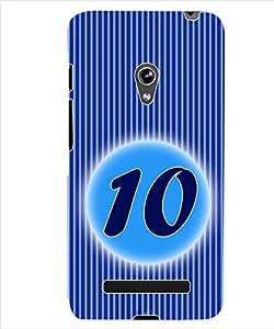 ColourCraft Numerology Number 10 Back Case Cover for ASUS ZENFONE 5 A500KL