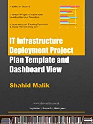 IT Infrastructure Deployment Project Plan Template and Dashboard