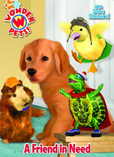 A Friend in Need with Sticker(s) (Nick Jr. Wonder Pets!)