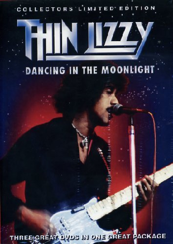 Thin Lizzy - Dancing In The Moonlight (3 Dvd+Libro)