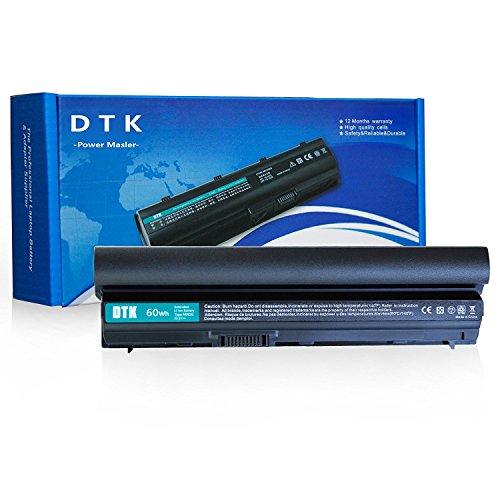 Dtk® portatile nuovo batteria di ricambio per Dell Latitude E6120 E6220 E6230 E6320 E6320XFR E6330 E6430S Series, 312-1241 312-1242 [Li-ion 11,1 V 4400 mAh] 12 mesi garanzia