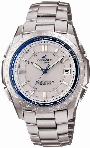 CASIO (カシオ) 腕時計 OCEANUS オシアナス Classic Line クラシックライン タフソーラー 電波時計 TOUGH MVT MULTIBAND6 OCW-T100TD-7AJF メンズ