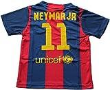 2014/2015 FC BARCELONA HOME NEYMAR JR. 11 FOOTBALL SOCCER KIDS JERSEY (8-9 YEARS)