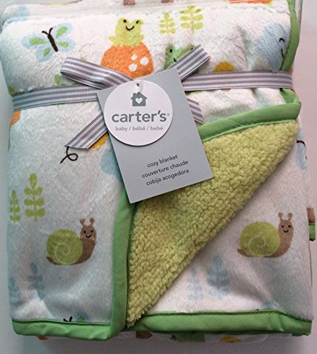 Carter's Outdoor Animals Baby Sherpa Cozy Blanket