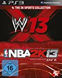 NBA 2K13 & WWE 13 (PS3)