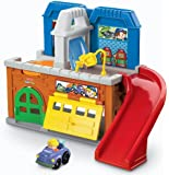 Fisher-Price Little People Wheelies Stow 'n Tow Garage
