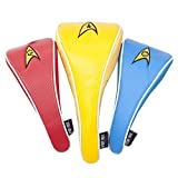 Star Trek Uniform Golf Club Covers [Set of 3]