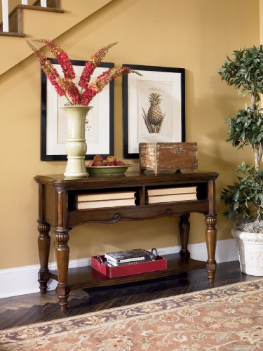 "Cheap WarmBrown Console Sofa Table – Design by ""Famous Brand"" Furniture (T844-4)"
