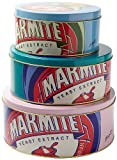 Marmite Tin Cake Tins, Set of 3, Assorted Colors