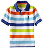 Kitestrings Boys 2-7 Yarn Dye Jersey Stripe Polo