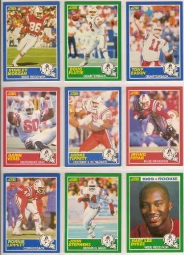 new-england-patroits-1989-score-premier-edition-football-team-set-doug-flutie-tony-eason-stanley-mor
