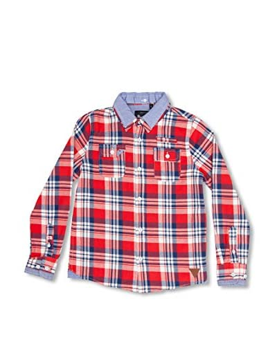 Pepe Jeans London Blusa Hadwin [Rosso]