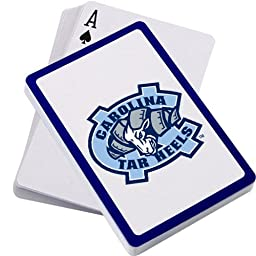 North Carolina Tar Heels Playing Cards