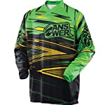 Answer Mens A13 Syncron Motocross Jersey Green/Yellow Medium M