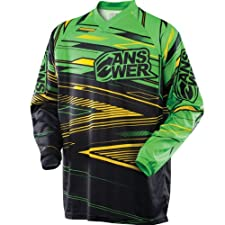 Answer Mens A13 Syncron Motocross Jersey Green/Yellow Medium M